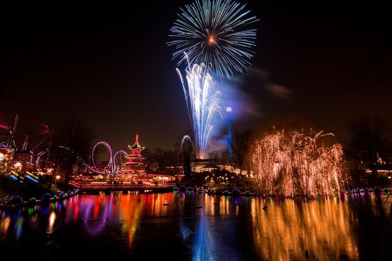 Tivoli Garden fireworks
