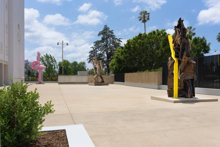The Sculpture Courtyard, 2017 | Courtesy of the Marciano Art Foundation