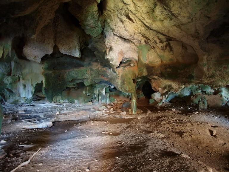 Cueva Diamante at Isla de Mona