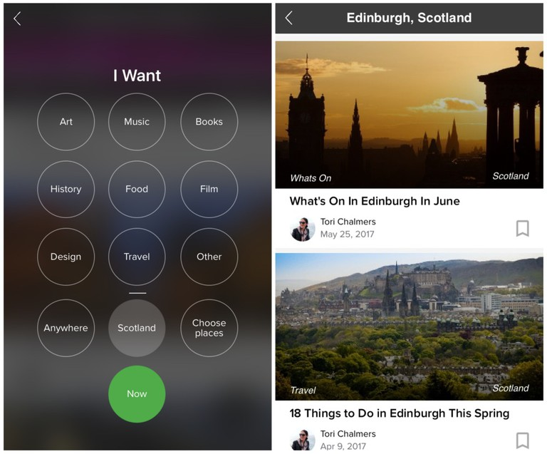 Culture Trip App Screenshots