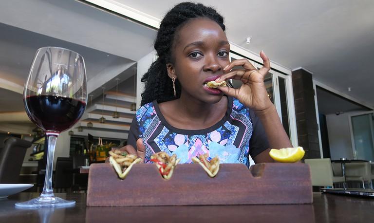 Eating in Nairobi | ©Jean Wandimi/ Author's own