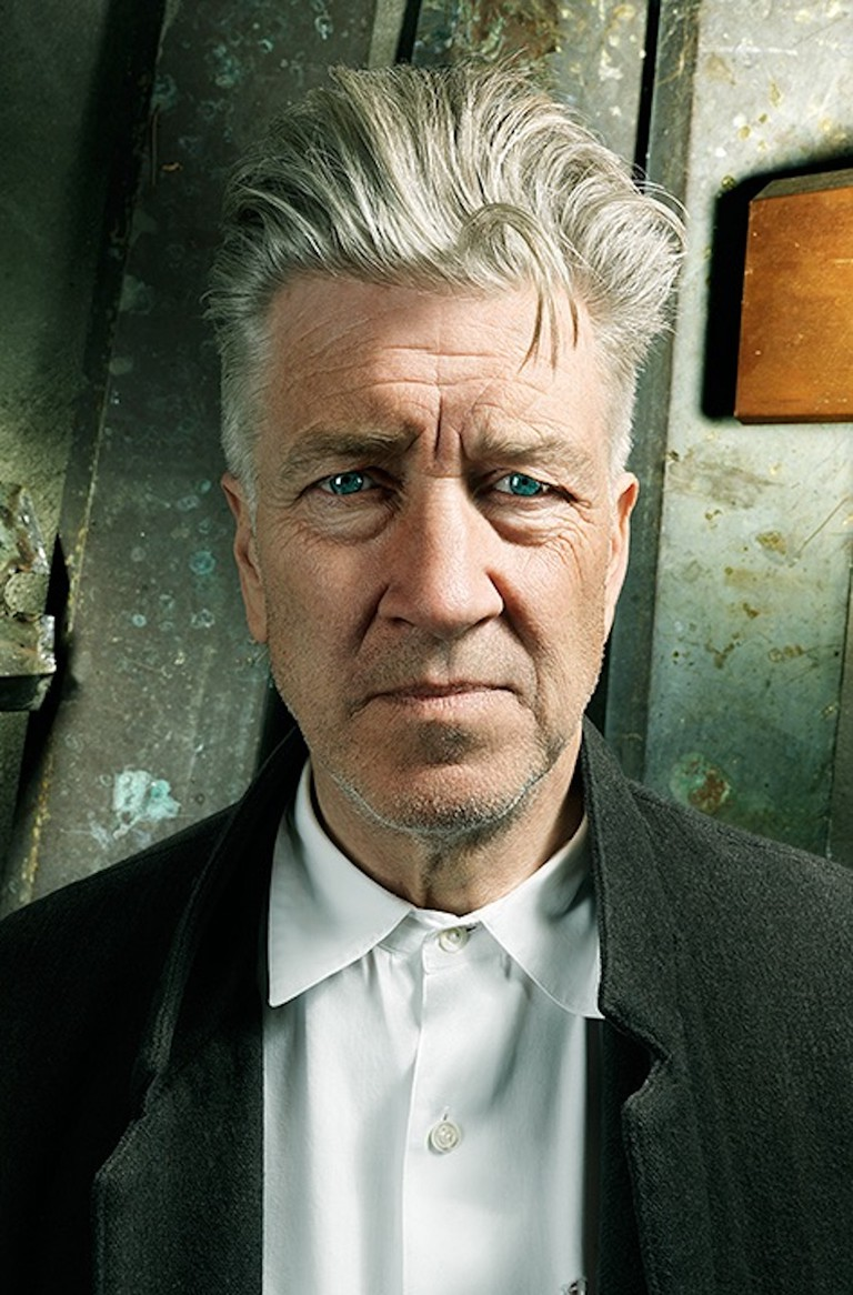 David Lynch in David Lynch: The Art Life directed by Jon Nguyen. Image courtesy of Janus Films.