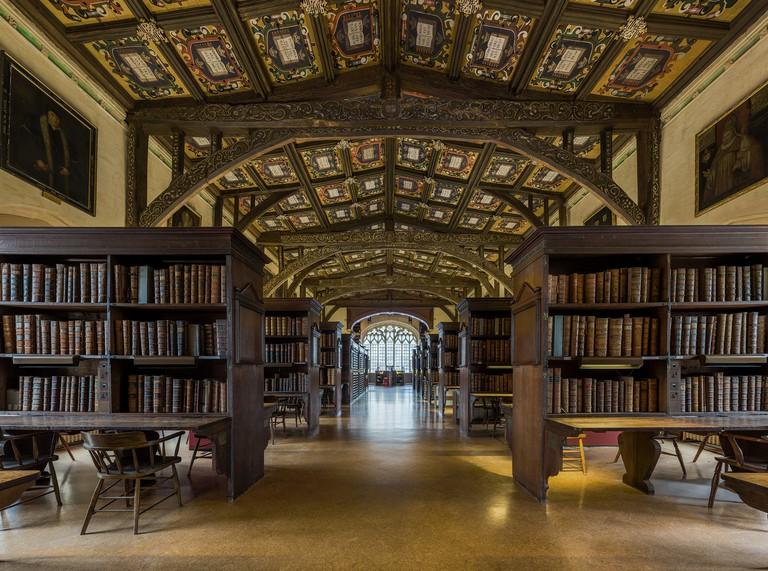 Duke Humfrey's Library Interior   © David Iliff/WikiCommons