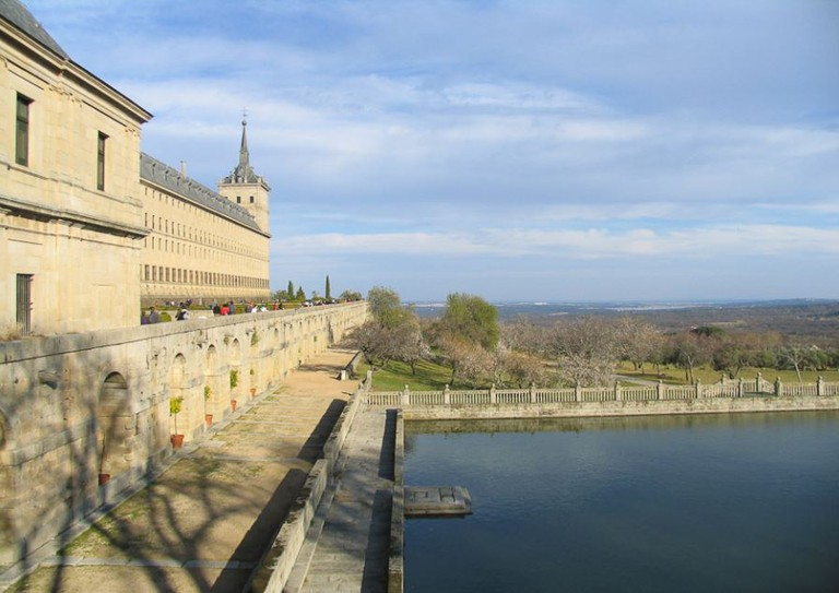 El Escorial, where the team played in 1902