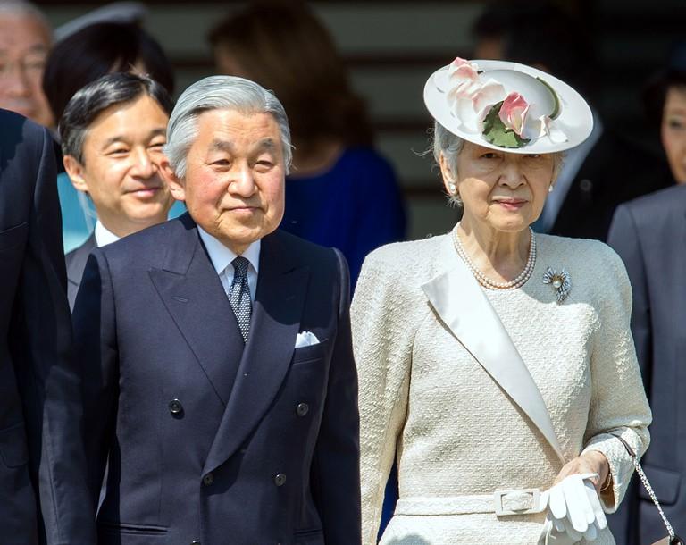 Emperor Akihito and Empress Michiko