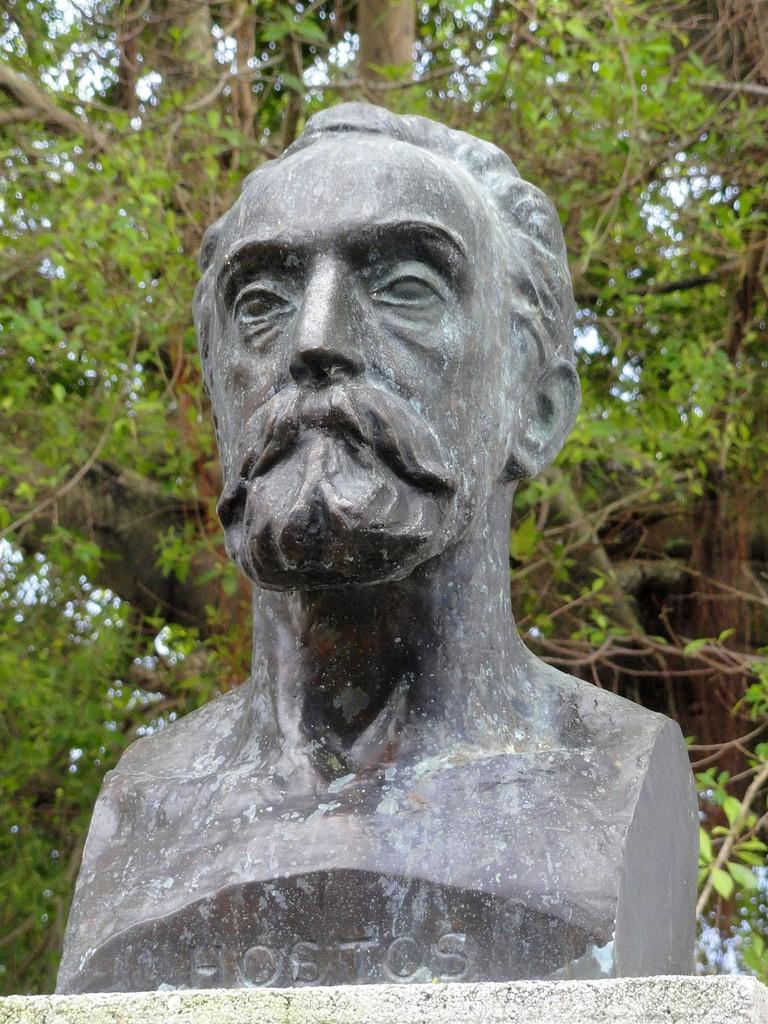 Statue in Old San Juan, Puerto Rico
