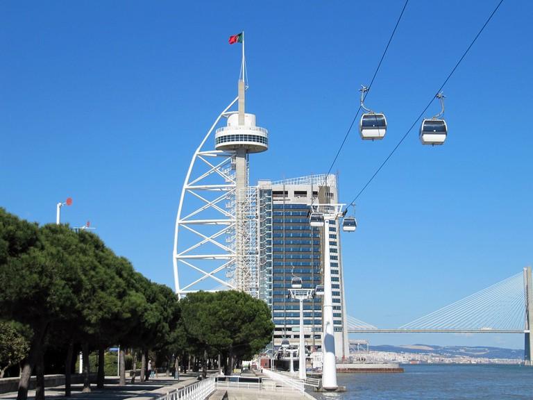 Parque das Nações is one of the most modern neighborhoods in Lisbon