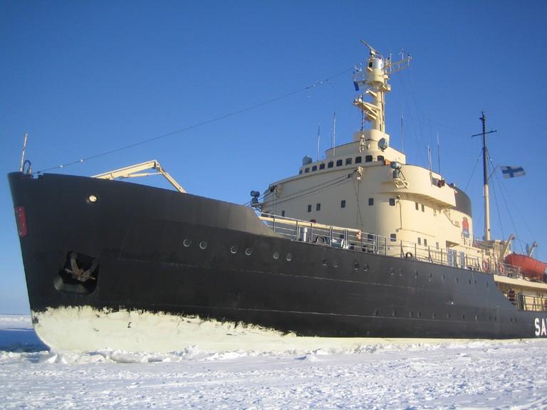 The icebreaker Sampo/ Wikicommons