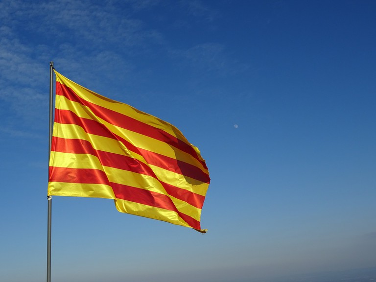 The Catalan flag CC0 Pixabay