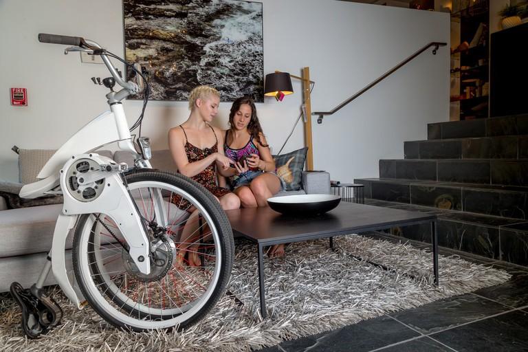 Argentina's Gi Fly folding bike
