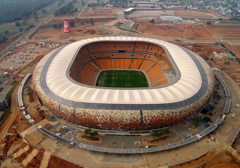 The FNB Soccer City Stadium