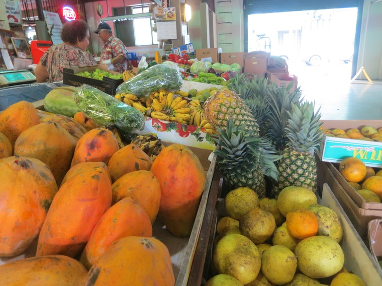 Durban has a wide range of fruit and vegetables