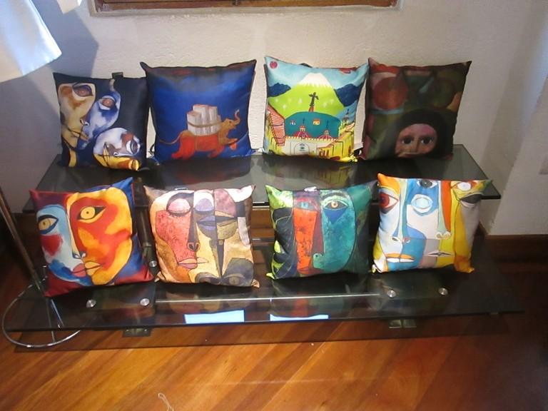 Guayasamin Pillows
