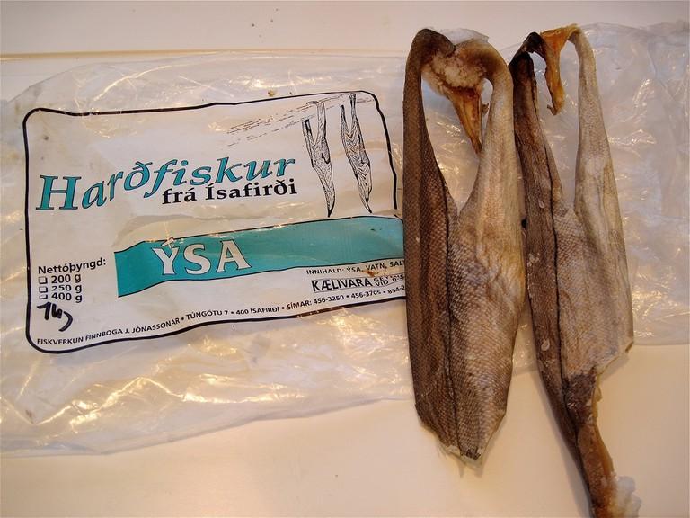 Iceland fish snacks   © Alan Levine/Flickr