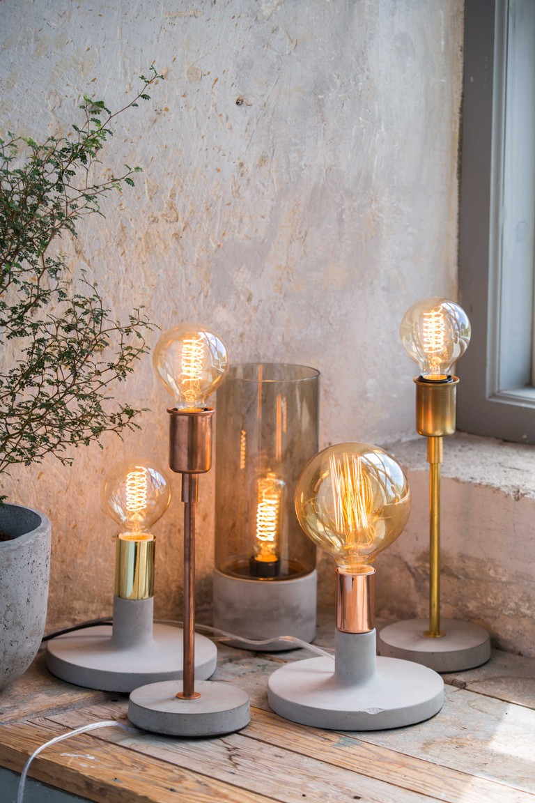 Hugo Linda and Albin Lamps by Abode Living   © Abode Living