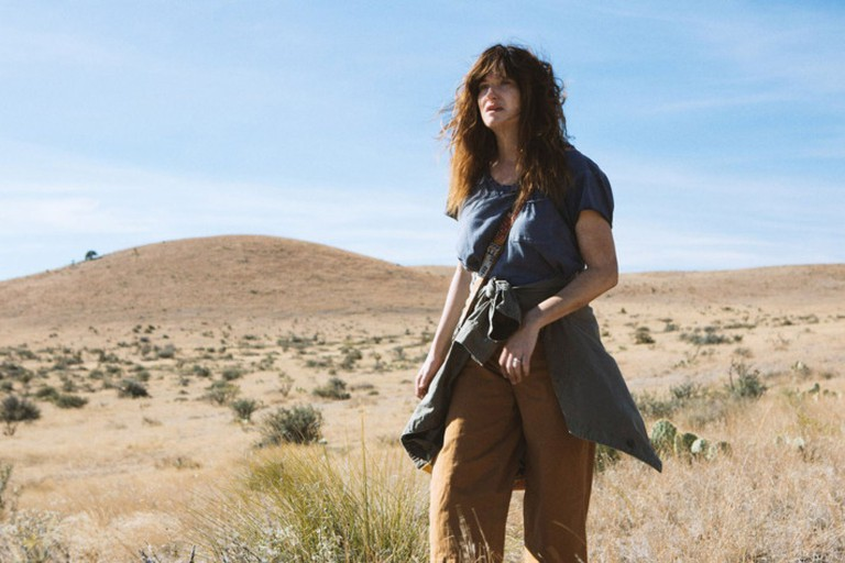 Chris (Kathryn Hahn), exploring Dick's country