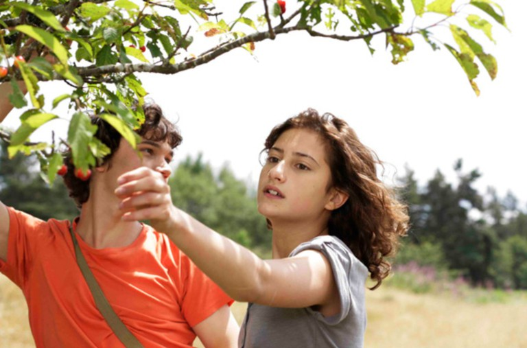 Sebastian Urzendowsky and Lola Créton in 'Goodbye First Love'