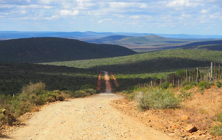 Kwandwe Private Game Reserve covers 22,000 hectares of land