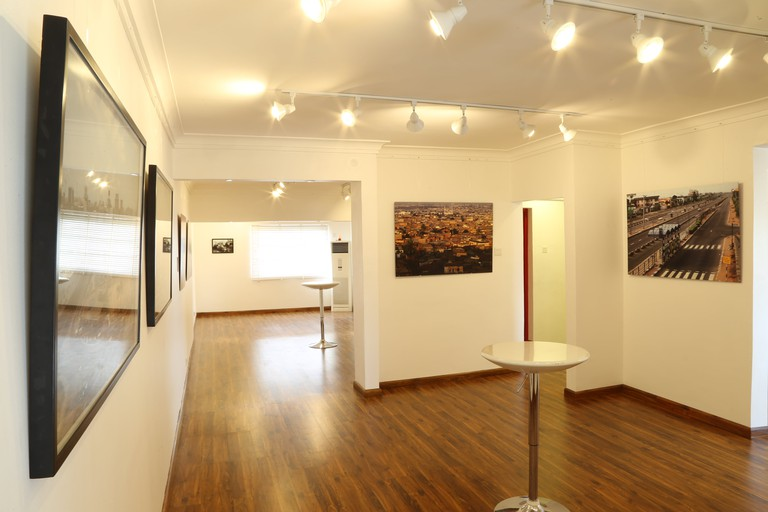Artworks on display at the Red Door Gallery
