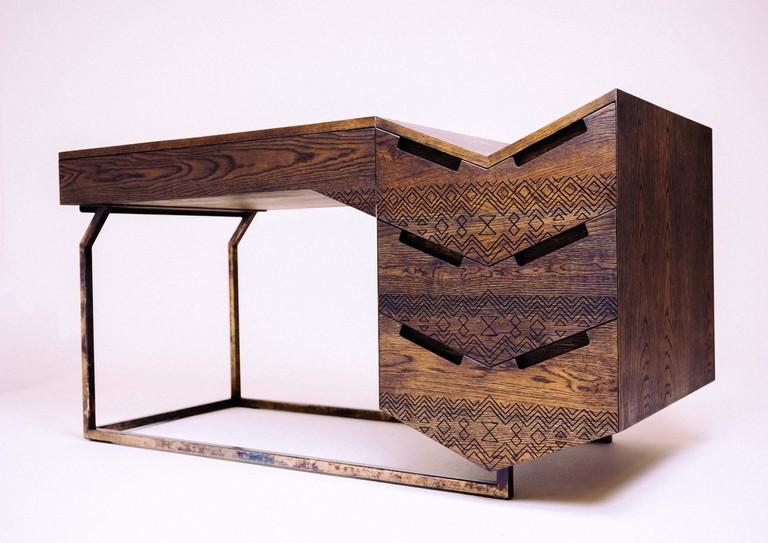 Desk by Pinda
