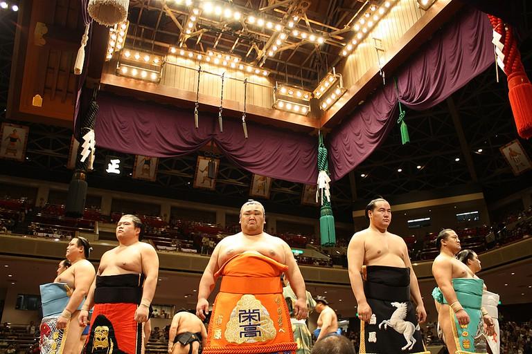 Japan's national sport of Sumo wrestling