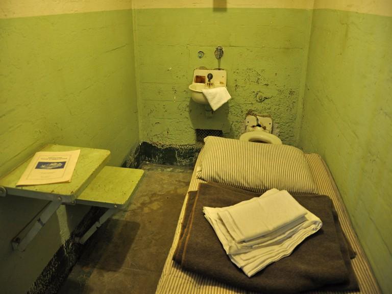 Sleeping quarters at Alcatraz
