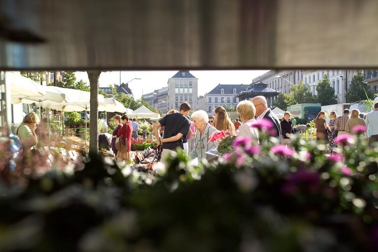 Kouter flower market   Courtesy of Visit Ghent