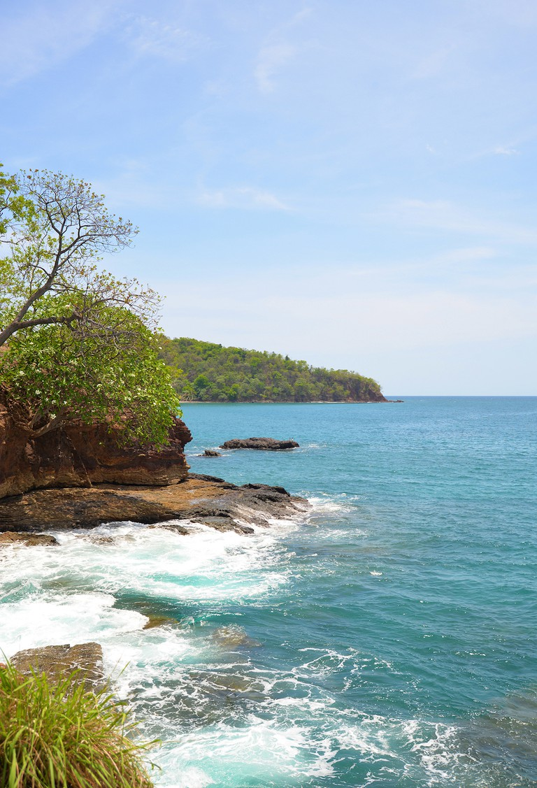 Secret coves and beaches