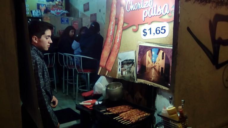 Street food on La Ronda