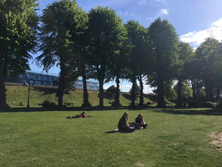 Dane John Gardens in Canterbury