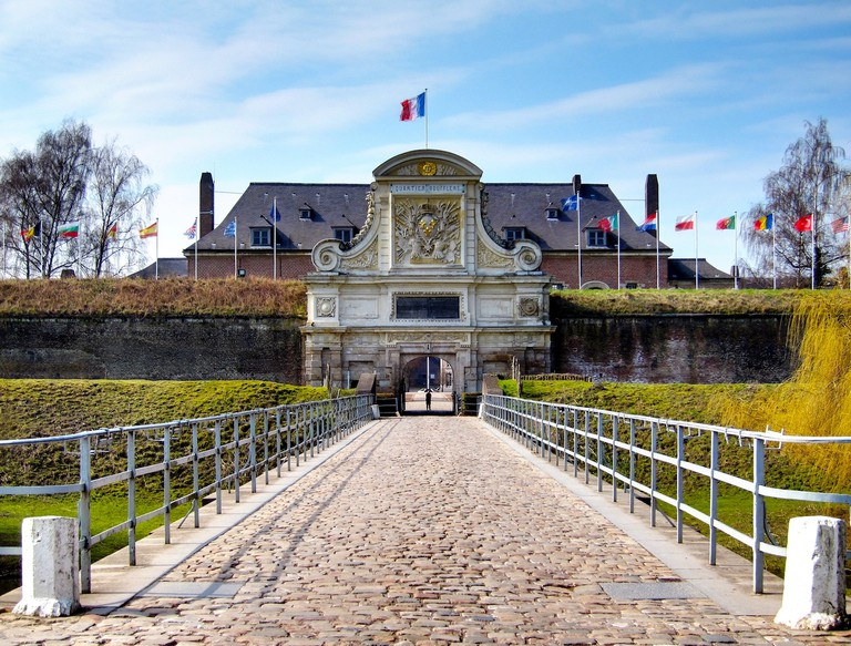 Main entrance to the Citadel, Lille