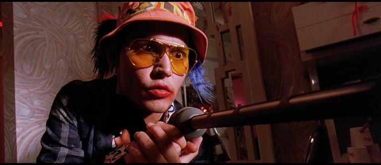 Johnny Depp gets weird in Fear and Loathing in Las Vegas