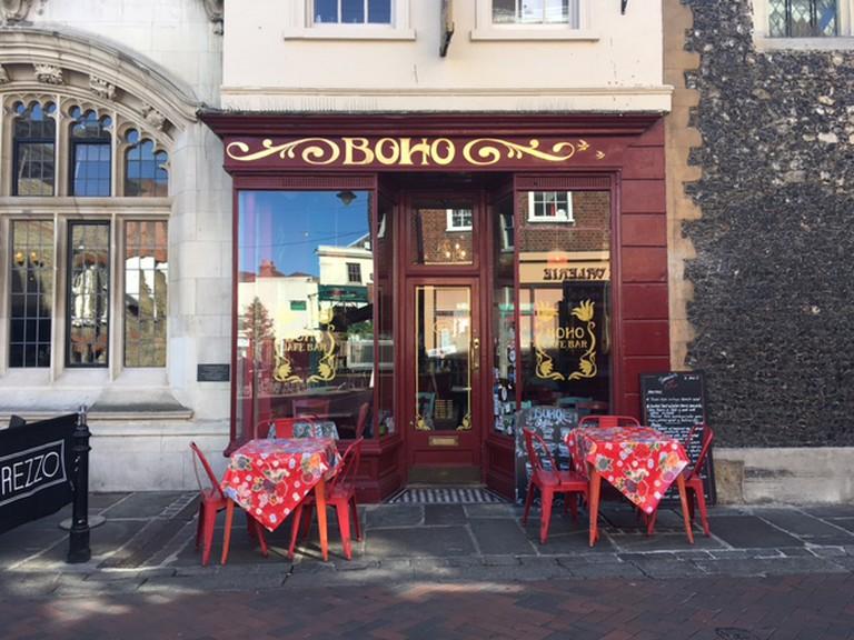 BOHO Cafe in Canterbury