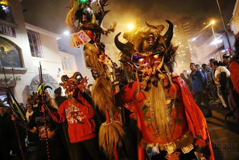 The Devils of Píllaro in Alangasí | © Agencia de Noticias ANDES / Flickr