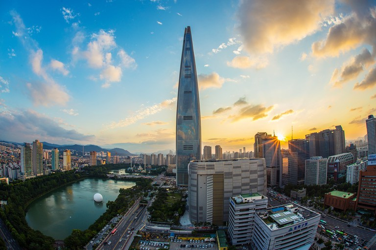 Lotte World Tower in Seoul