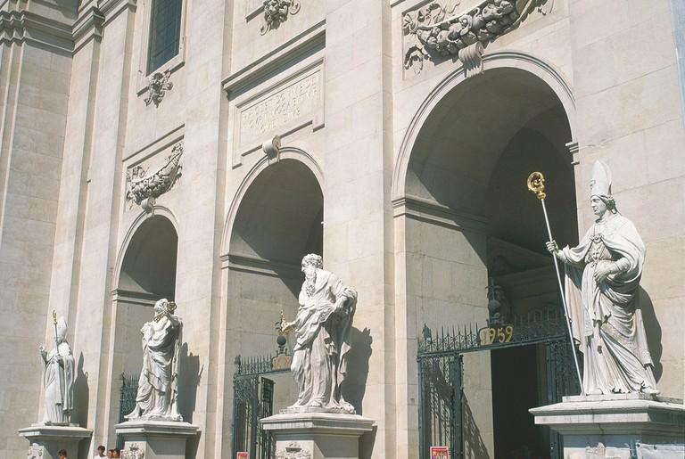 Cathedral of Salzburg Entrance