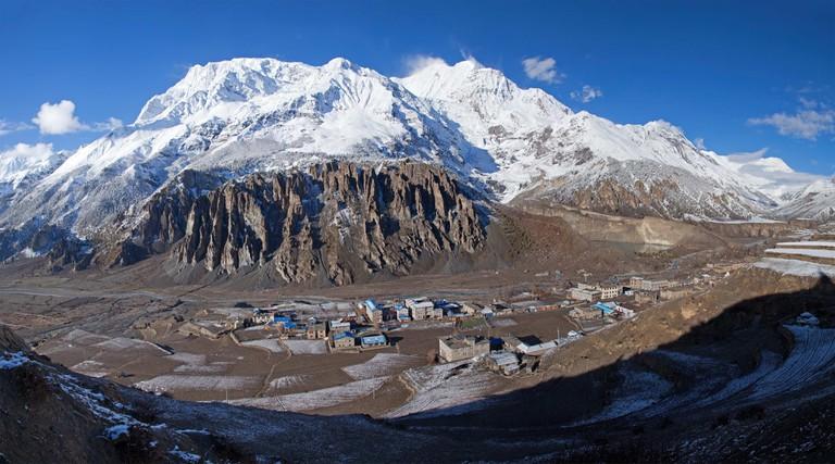 Annapurna, the couple's final summit
