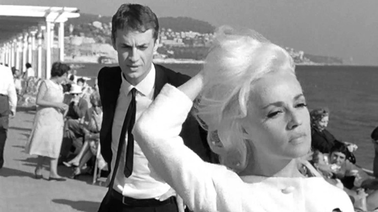 Claude Mann and Jeanne Moreau in 'Bay of Angels'