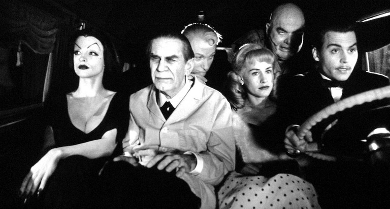 The Cast of 'Ed Wood'