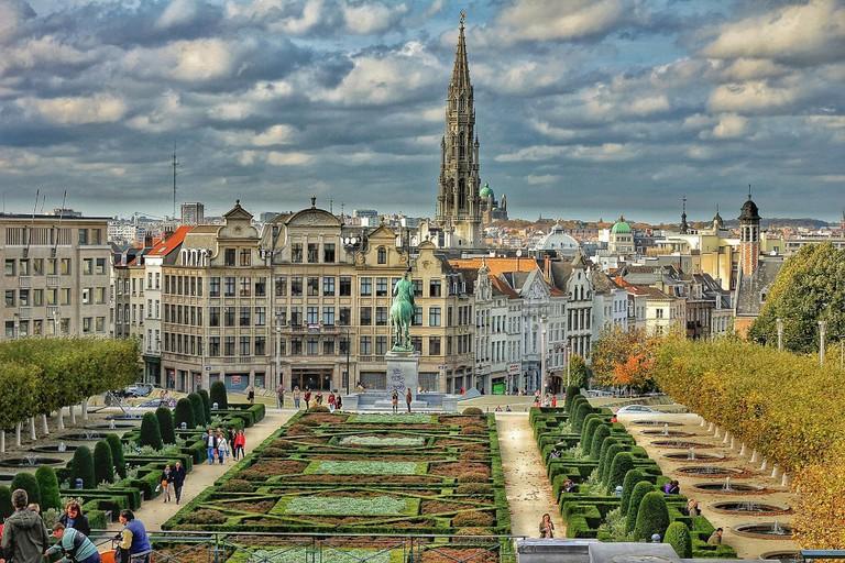 Mont des Arts garden | public domain / Pixabay