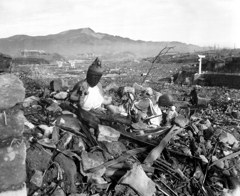 Nagasaki temple destroyed