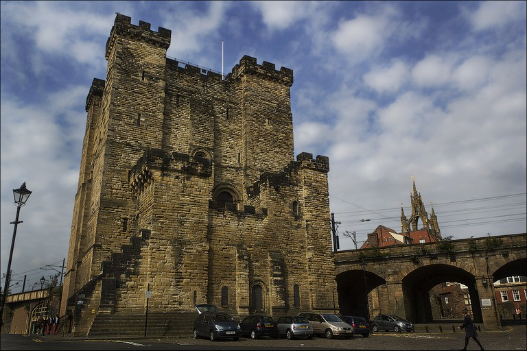 Newcastle Castle Keep