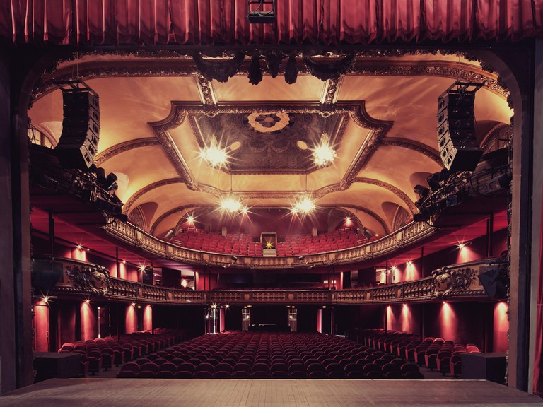 On stage at Le Trianon │ Courtesy of Le Trianon