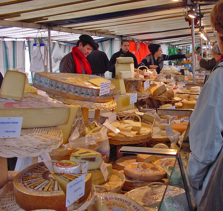 Paris cheese market │© DorianKrauss / Pixabay