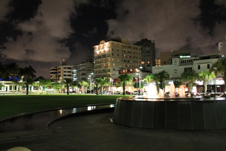 Part of Condado in San Juan