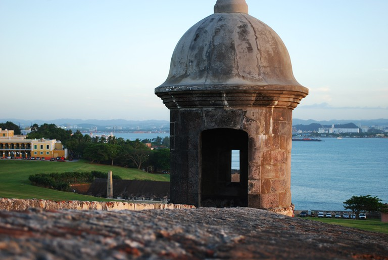 Part of El Morro Castle in Old San Juan