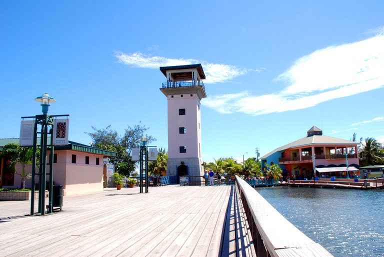 Part of La Guancha in Ponce
