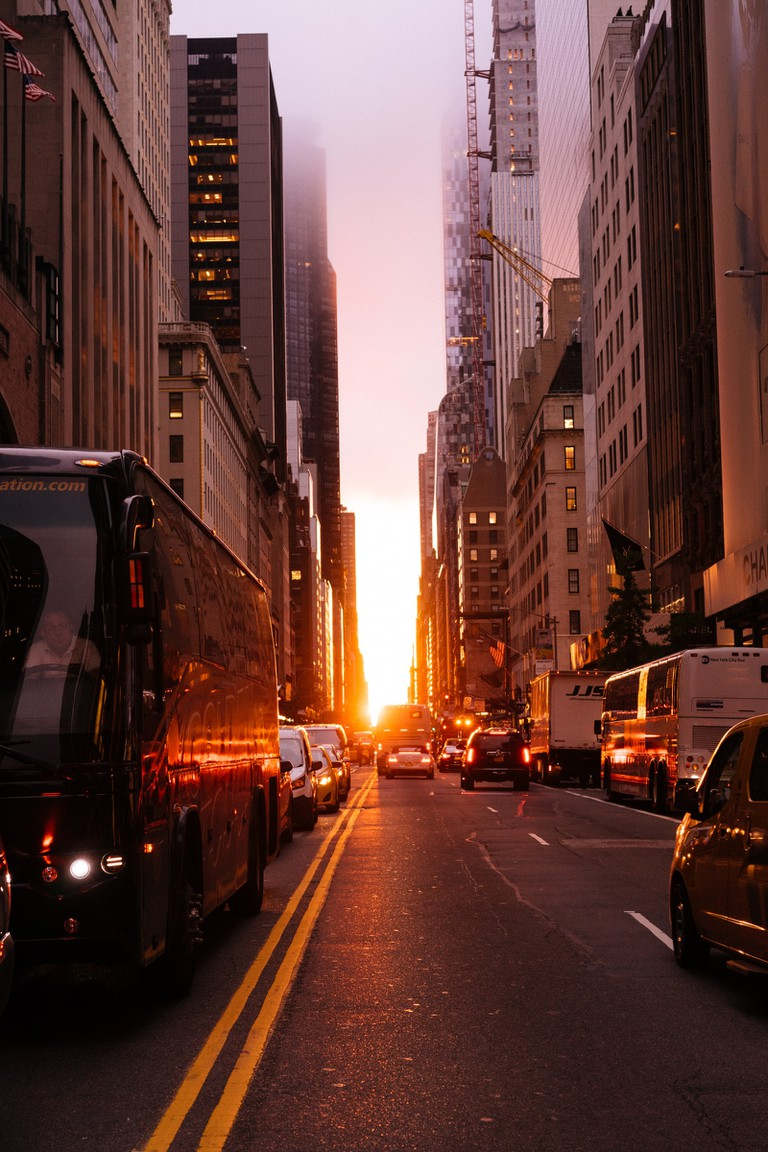 Manhattanhenge-New York-USA