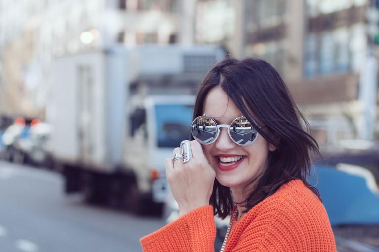 Florencia Pereira of the fashion blog Penny Lane