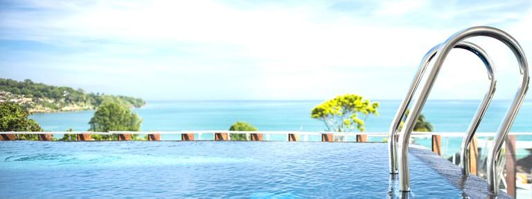 Penthouse pool at Le Méridien Bali Jimbaran